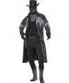 Halloween zwarte geest kostuum voor volwassenen