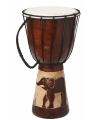 Handgemaakte drum olifant 40 cm