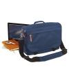 Handige laptoptas navy blauw