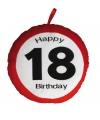 Happy birthday kussen 18 jaar