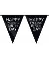 Happy fucking birthday vlaggenlijn 10 m