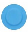 Hard bamboevezel bord blauw 19 8 cm
