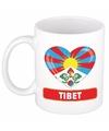 Hartje tibet mok beker 300 ml