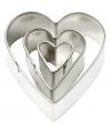 Hartvormige uitstekers 3 stuks
