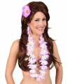 Hawaii accessoire set paars