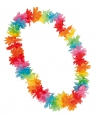 Hawaii krans in zomerse kleuren