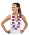Hawaii krans rood wit blauw
