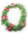 Hawaii slinger roze bloem