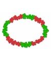 Hawaiikrans rood en groen