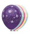 Helium leeftijd ballonnen 70 jaar