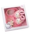 Hello kitty giftbox met slofjes en slab