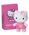 Hello kitty knuffeltje roze 10 cm