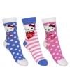 Hello kitty meisjes sokken 3 pak nr 1