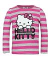 Hello kitty t shirt grijs met roze