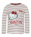 Hello kitty t shirt wit met rood