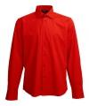 Heren overhemd rood