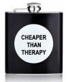 Heupfles cheaper than therapy 112 x 93 x 25 mm