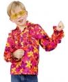 Hippie blouse met rouches voor kinderen