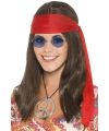 Hippie dames verkleed kit deluxe