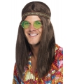 Hippie heren verkleed kit
