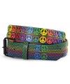 Hippie riem peace en sterren