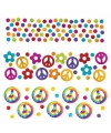 Hippie thema confetti 34 gram