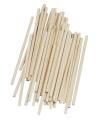 Hobby materiaal knutselhoutjes naturel 10 cm