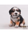 Honden beeldje berner sennen puppy 15 cm