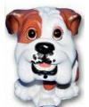 Honden beeldje bulldog puppie 13 cm