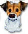 Honden beeldje jack russell puppie 13 cm