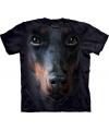 Honden t shirt doberman