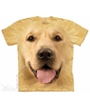 Honden t shirt golden retriever voor volwassenen