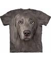 Honden t shirt weimaraner voor volwassenen