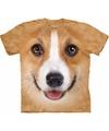 Honden t shirt welsh corgi pembroke voor volwassenen