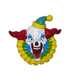 Horror clown wandplaat
