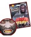 Horror gebitje met monster tanden