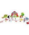 Houten circus speelgoed set 13 delig