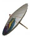 Houten decoratie paraplu 85 cm