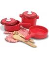 Houten keuken accessoires set