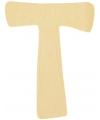 Houten letter t 6 cm