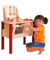 Houten speelgoed keuken met accessoires