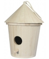 Houten vogelhuisje 16 cm