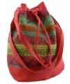 Ibiza tas rood 30 cm