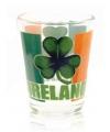 Ierland shotglas met klavertje drie