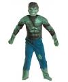 Incredible hulk kostuum voor jongens