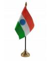 India tafelvlaggetje inclusief standaard