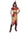 Indiaan jurk voor dames met riem