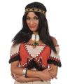 Indianen pruik voor vrouwen