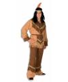 Indianen verkleedkleding grote maat