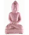Indische boeddha beeldje roze 25 cm